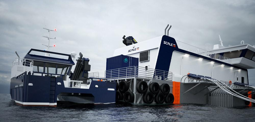 Powerbank i Container for fartøy og flåter